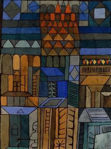 Early Chill (Beginnende Kühle). 1937 by Paul Klee