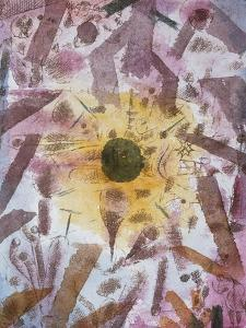 Eclipse of the Sun; Sonnenfinsternis by Paul Klee