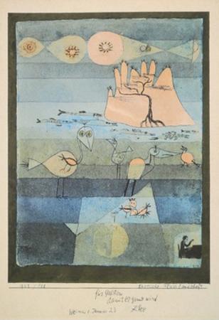Exotic Riverside by Paul Klee