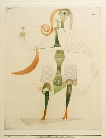 Female Costume Mask by Paul Klee