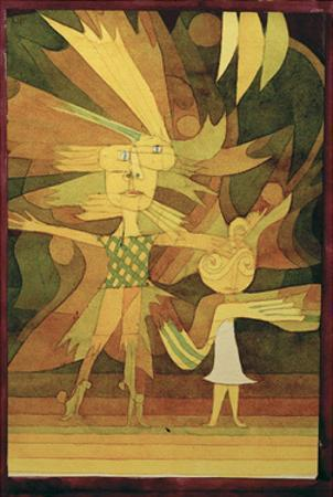 Figures from a Ballet by Paul Klee