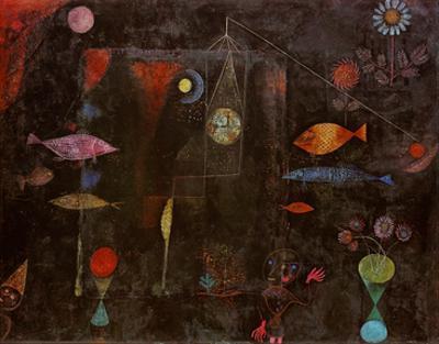 Fish Magic by Paul Klee
