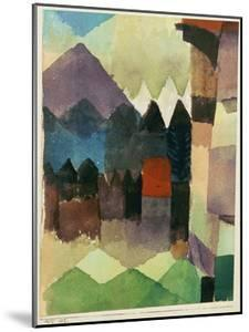 Fohn Wind in Marc's Garden by Paul Klee