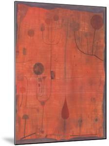 Fruchte Auf Rot, c.1930 by Paul Klee
