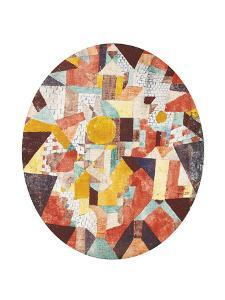 Full Moon Within Walls by Paul Klee