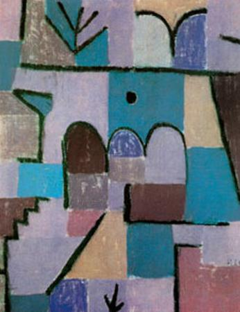 Garten im Orient, c.1937 by Paul Klee