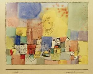 German City BR by Paul Klee