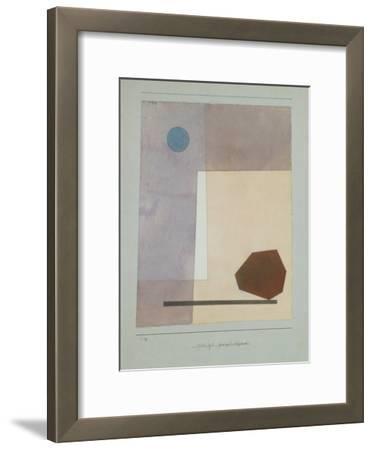 Gewagt Wägend by Paul Klee