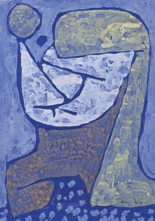 Gezcidinetes Madchen by Paul Klee