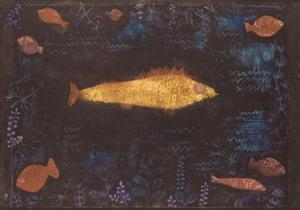 Golden Fish by Paul Klee