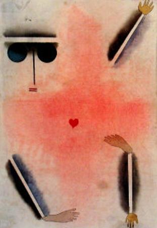 Hat Kopf, Hand, Fuss, 1930 by Paul Klee