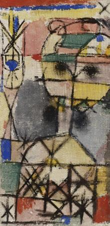 Head; Kopf by Paul Klee