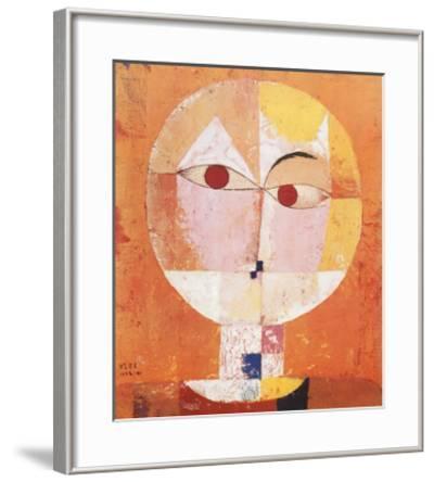 Head of Man, Going Senile, c.1922 by Paul Klee