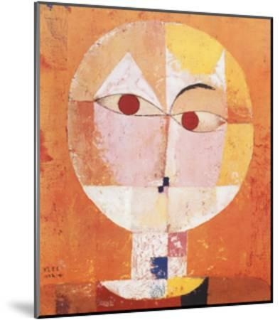 Head of Man, Going Senile, c.1922 by Paul Klee