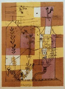 Hoffmanesque Scene by Paul Klee