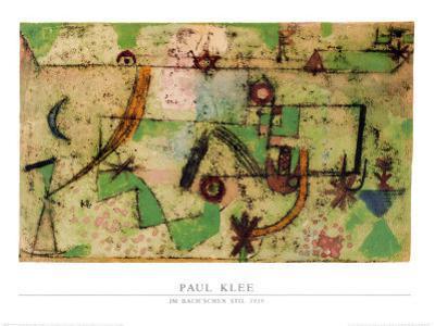 Im Bachschen Stil, 1919 by Paul Klee