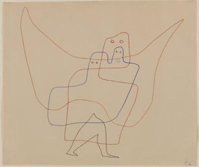 In Angel's Care, 1931 by Paul Klee