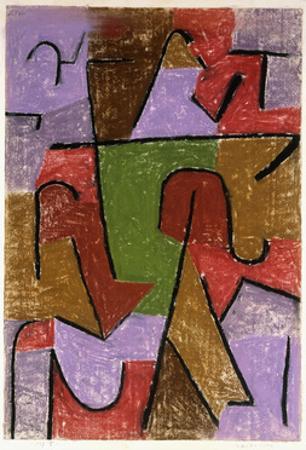 Indianisch by Paul Klee