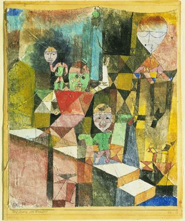 Introducing the Miracle (1916) by Paul Klee