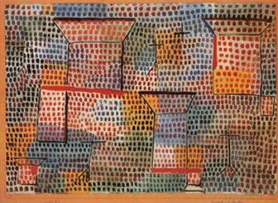 Kreuze und Saulen by Paul Klee