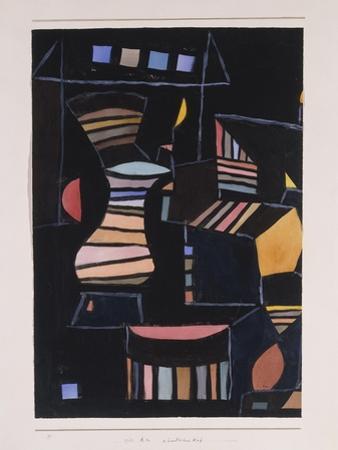Kunstlicher Hof by Paul Klee