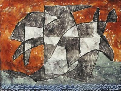 Lake Ghost by Paul Klee