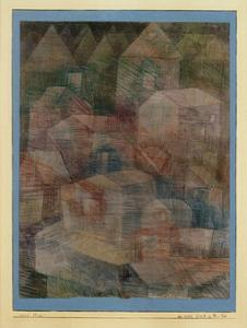 Last Village in the PH Valley by Paul Klee