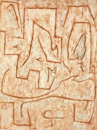 Latomie by Paul Klee