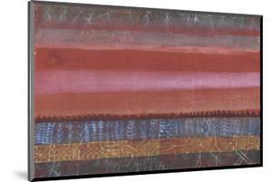 Layered Landscape; Ebene Landschaft by Paul Klee