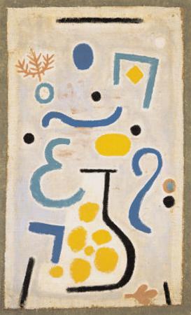 Le Vase by Paul Klee