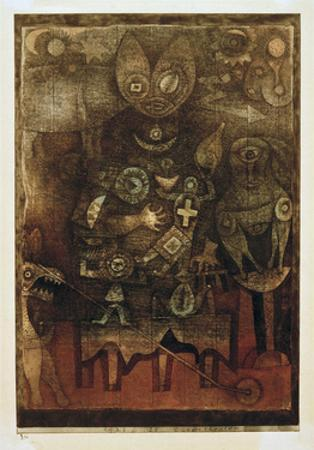 Magic Theatre by Paul Klee