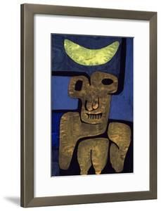 Moon of the Barbarians; Luna Der Barbaren by Paul Klee