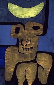 Moon of the Barbarians; Luna Der Barbaren by Paul Klee