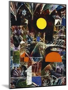Moonrise - Sunset; Mondauf - Sonnenuntergang by Paul Klee