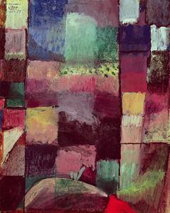 Motif from Hammamet, 1914 (No 57) by Paul Klee