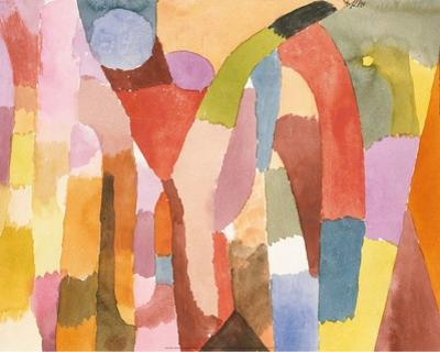 Movement of Vaulted Chambers, 1915 by Paul Klee