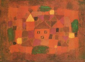 Paesaggio al Tramonto, c.1923 by Paul Klee