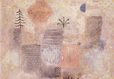 Park with the cool Crescent by Paul Klee