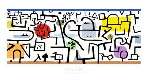 Port Florissant, c.1938 by Paul Klee