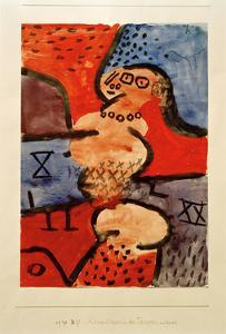 Reconstruction of a Dancer by Paul Klee