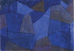 Rocks at Night (Felsen in der Nacht) by Paul Klee