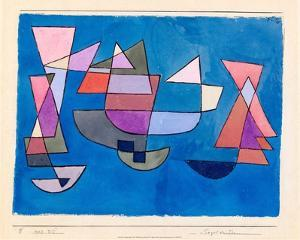 Sailing Boats, 1927 by Paul Klee