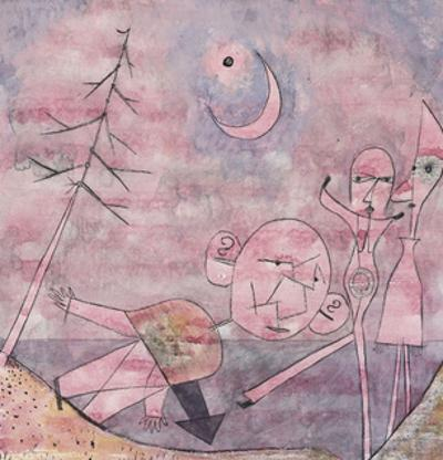 Scene at the Water; Scene Am Wasser by Paul Klee