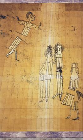 Scene unter Madchen by Paul Klee