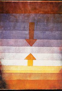 Scheidung Abends, c.1922 by Paul Klee