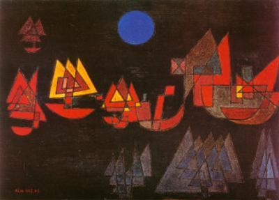 Schiffe im Dunkeln, c.1927