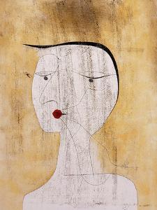 Sealed Woman by Paul Klee
