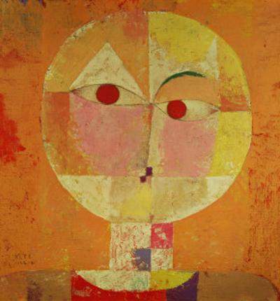 Senecio by Paul Klee