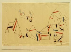 Ships After the Storm by Paul Klee