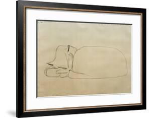 Sleeping Cat by Paul Klee